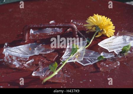 Broken Glass Stock Photo 62152773 Alamy