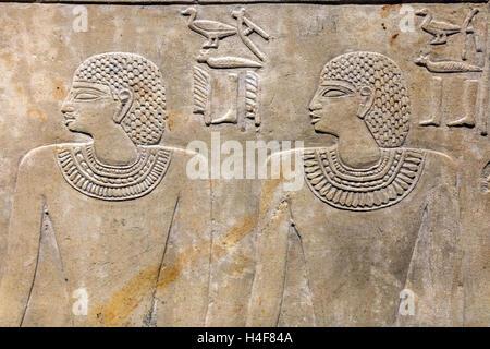 Museo Egizio, Egyptian museum, Turin, Piedmont, Italy - Stock Photo