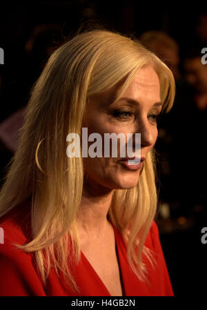 London, UK. 15th Oct, 2016. Joely Richardson attending  the Premiere of SNOWDEN  at the BFI London Film Festival - Stock Photo
