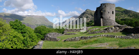 Dolbadarn Castle Ruin - Stock Photo