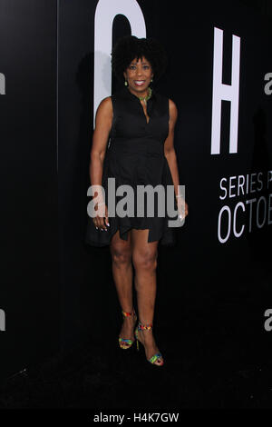 Los Angeles, Ca, USA. 17th Oct, 2016. Dawnn Lewis attends the premiere of Hulu's 'Chance' at Harmony Gold Theatre - Stock Photo