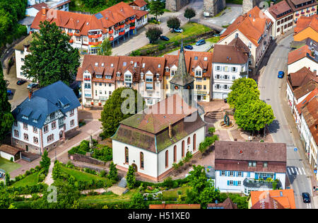 St. John the Baptist Church in Hornberg - Baden Wurttemberg, Germany - Stock Photo