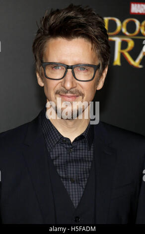 Hollywood, USA. 20th Oct, 2016. Scott Derrickson at the World premiere of 'Doctor Strange' held at the El Capitan - Stock Photo
