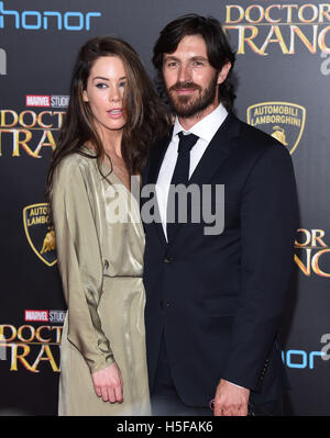 Hollywood, California, USA. 20th Oct, 2016. Eoin Macken arrives for the premiere of the film 'Doctor Strange' at - Stock Photo