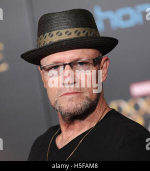 Hollywood, California, USA. 20th Oct, 2016. Michael Rooker arrives for the premiere of the film 'Doctor Strange' - Stock Photo