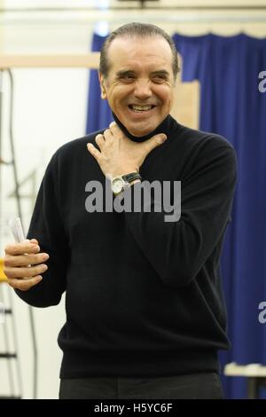 New York, NY, USA. 21st Oct, 2016. Chazz Palminteri at the press conference for A BRONX TALE THE MUSICAL Meet and - Stock Photo