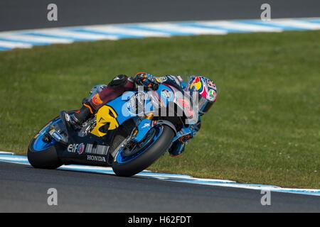 Phillip Island, Australia. 23rd October, 2016. MotoGP. Warm Up. Jack Miller, Estrella Galicia Marc VDS MotoGP Team. - Stock Photo