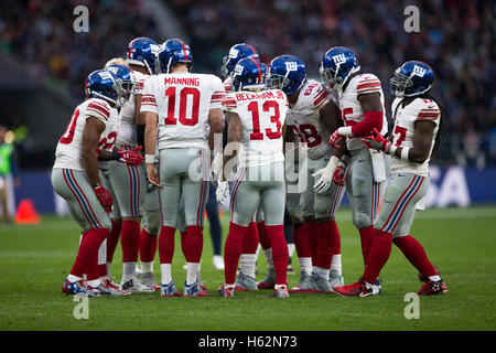 Twickenham, London, UK. 23rd Oct, 2016. NFL International Series. New York Giants versus LA Rams. New York Giants - Stock Photo