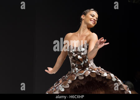 The chocolate fashion show in Paris - Stock Photo