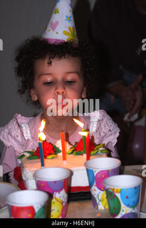 Virtual Birthday Cake Blowing Candles