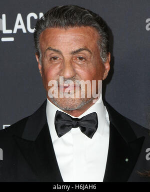 Los Angeles, Ca, USA. 29th Oct, 2016. Sylvester Stallone attends the 2016 LACMA Art   Film Gala honoring Robert - Stock Photo
