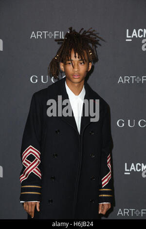 Los Angeles, Ca, USA. 29th Oct, 2016. Jaden Smith attends the 2016 LACMA Art   Film Gala honoring Robert Irwin and - Stock Photo