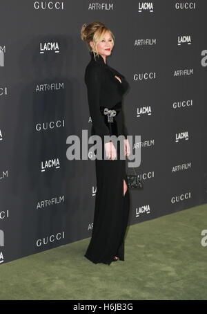 Los Angeles, Ca, USA. 29th Oct, 2016. Melanie Griffith attends the 2016 LACMA Art   Film Gala honoring Robert Irwin - Stock Photo