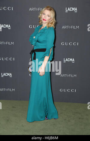 Los Angeles, Ca, USA. 29th Oct, 2016. Courtney Love attends the 2016 LACMA Art   Film Gala honoring Robert Irwin - Stock Photo