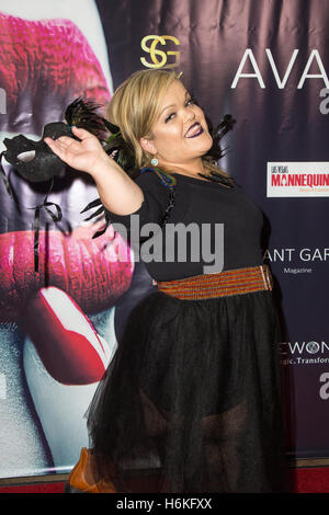 Los Angeles, California USA. 29th October, 2016. Actress and reality TV personality Christy McGinity Gibel attends - Stock Photo