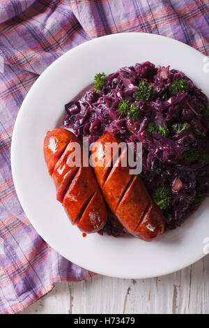 how to make stewed red cabbage
