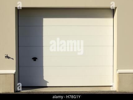 Garage door - Stock Photo