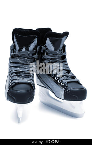 new and modern skates close up - Stockfoto