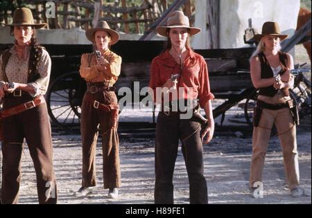 Bad Girls, (BAD GIRLS) USA 1994, Regie: Jonathan Kaplan, ANDIE MacDOWELL, MARY STUART MASTERSON, MADELEINE STOWE, - Stock Photo