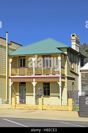 Two Storey/Story Brick and Weatherboard Home,Walcha NSW Australia - Stockfoto