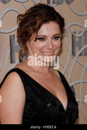 Beverly Hills, CA. 8th Jan, 2017. Rachel Bloom at the after-party for HBO's 2017 Golden Globes After Party - 3, - Stock Photo
