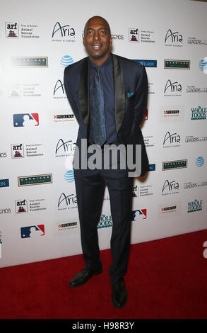 Las Vegas, NV, USA. 19th Nov, 2016. 19 November 2016 - Las Vegas, NV - John Salley. Tony La Russa's 5th Annual Leaders - Stockfoto
