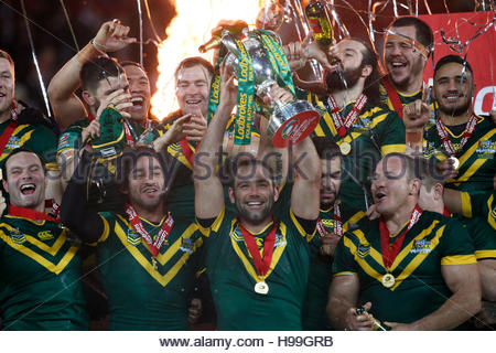 Rugby League Britain - Australia v New Zealand - 2016 Ladbrokes Four Nations Final - Anfield, Liverpool - 20/11/16 - Stockfoto