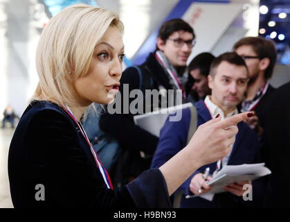 Moscow, Russia. 22nd Nov, 2016. State Dume member Olga Timofeyeva in the Action Forum organised by the All-Russian - Stock Photo