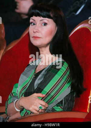 Moscow, Russia. 22nd Nov, 2016. Actress Nonna Grishayeva at a concert marking the 70th birthday of Patriarch Kirill - Stockfoto