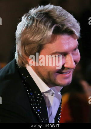 Moscow, Russia. 22nd Nov, 2016. Singer Nikolai Baskov at a concert marking the 70th birthday of Patriarch Kirill - Stockfoto