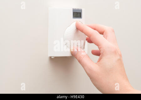 how to change a wall thermostat