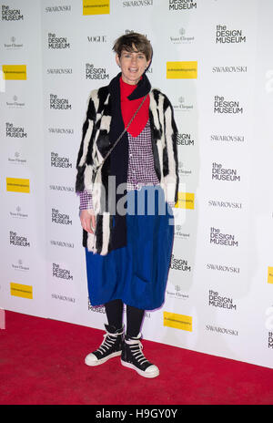 London, UK. 22nd Nov, 2016. Stella Tennant attends The Design Museum VIP launch on November 22, 2016 in London, - Stock Photo