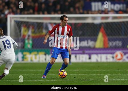 Madrid, Spain. 19th Nov, 2016. Diego Godin (Atletico) Football/Soccer : Spanish 'La Liga Santander' match between - Stockfoto