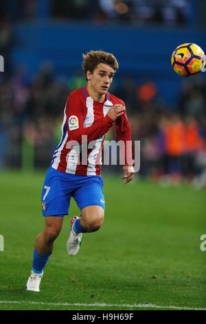 Madrid, Spain. 19th Nov, 2016. Antoine Griezmann (Atletico) Football/Soccer : Spanish 'La Liga Santander' match - Stockfoto