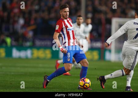 Madrid, Spain. 19th Nov, 2016. Saul Niguez (Atletico) Football/Soccer : Spanish 'La Liga Santander' match between - Stockfoto