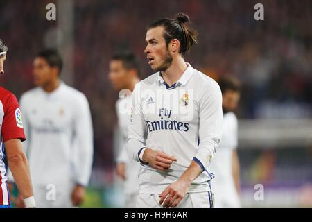 Madrid, Spain. 19th Nov, 2016. Gareth Bale (Real) Football/Soccer : Spanish 'La Liga Santander' match between Atletico - Stockfoto