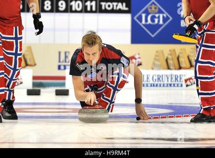 Glasgow, Scotland, UK. 26th November, 2016. Haavard Vad Petersson (Norway). Mens final. Le Gruyère AOP European - Stock Photo