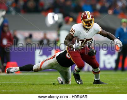 Britain American Football - Cincinnati Bengals v Washington Redskins - NFL International Series - Wembley Stadium, - Stockfoto