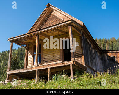Old house animas forks alpine loop colorado stock photo for Classic house loop