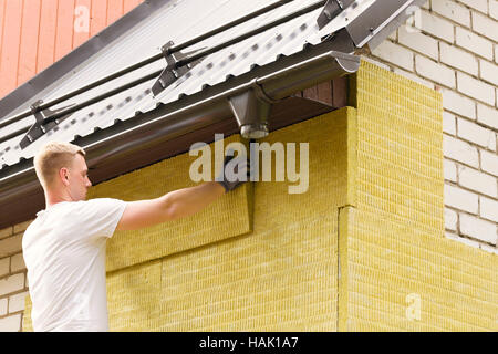 Thermal insulation material rock wool texture stock photo for Wool house insulation