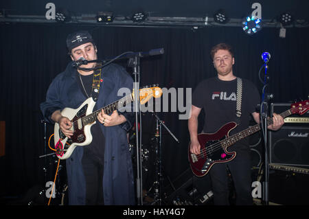 London, UK. 03rd Dec, 2016. Coquin Migale perform at Water Rats for This Feeling. It is an alternative rock band - Stock Photo