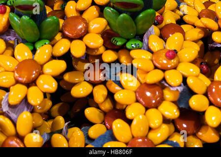 beautiful and colorful confetti facts sulmona - Stock Photo