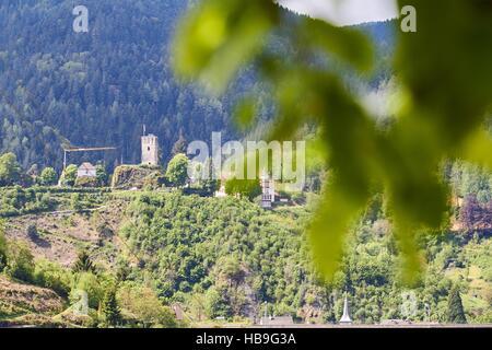 Black Forest: Hornberg in Black Forest - Stock Photo