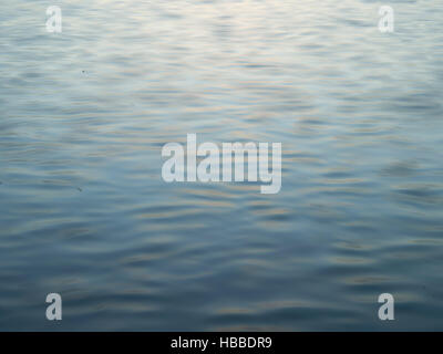 A photograph of nothing but sea water - Stockfoto