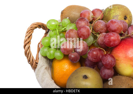 Grapes, pears and other fruits - Stock Photo