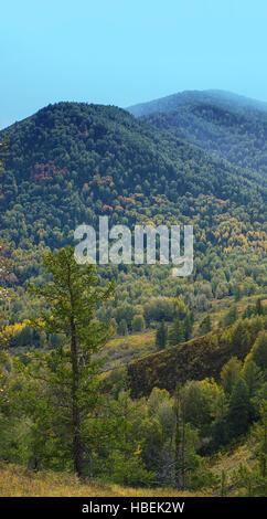 Altay mountains in Siberia - Stock Photo