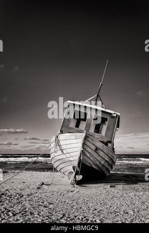 Baltic Sea Fishing Boat - Stock Photo
