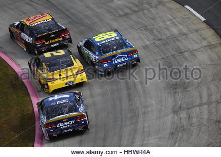 NASCAR: Oct 30 Goody's Fast Relief 500 - Stockfoto