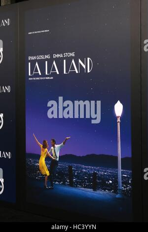 Los Angeles, CA, USA. 6th Dec, 2016. Atmosphere at the 'La LA Land' World Premiere at Village Theater on December - Stock Photo
