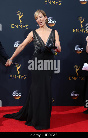 2016 Primetime Emmy Awards - Arrivals at the Microsoft Theater on September 18, 2016 in Los Angeles, CA  Featuring: - Stock Photo